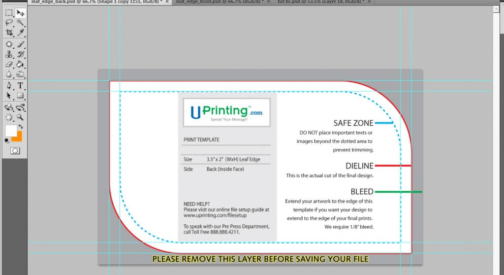 Photoshop Business Card Templates and Print Design Tutorial - oukas.info