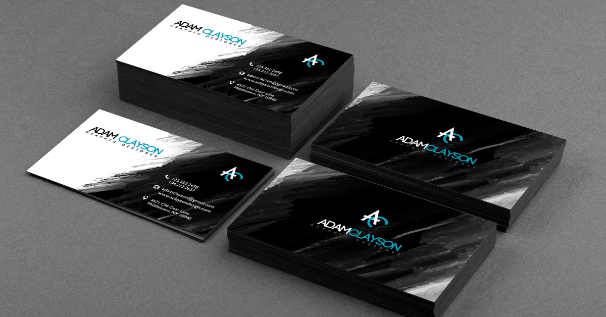 Beautiful Black Business Cards Gallery - Card Design And Card Template