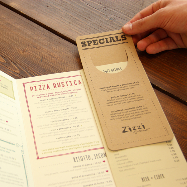 menu designs