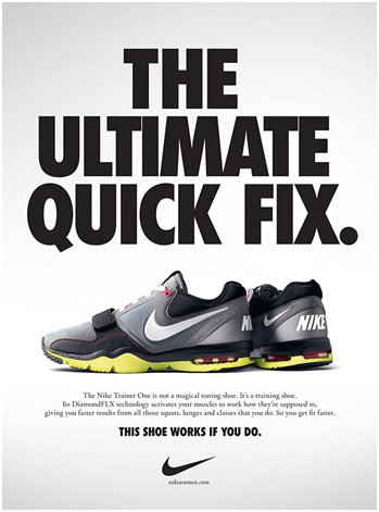 an analysis of various nike ads Nike marketing analysis 1 ma suggest that a nike advertisement is 'immediately leeds: humankineticsnike inc (various years) annual.