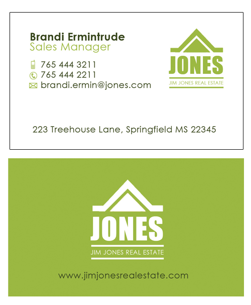 5 Photoshop Psd Business Card Design Templates For Real Estate