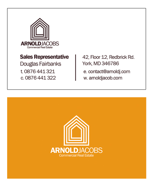 5 Photoshop (PSD) Business Card Design Templates for Real Estate ...