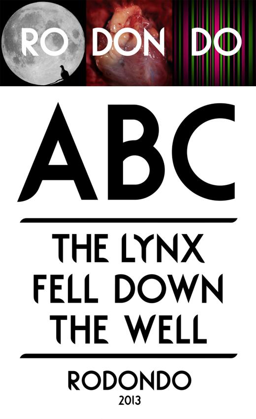 free art deco font 13