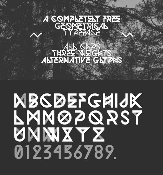 free art deco font 15