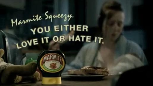 you either love it or hate it marmite