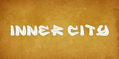 inner city font free
