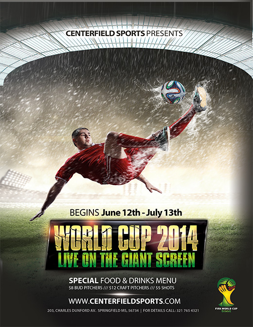 Free  World Cup Templates  Make Your Own Postcard Or Flyers For