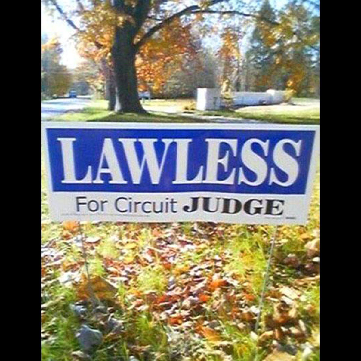 Funny Yard Sign 16