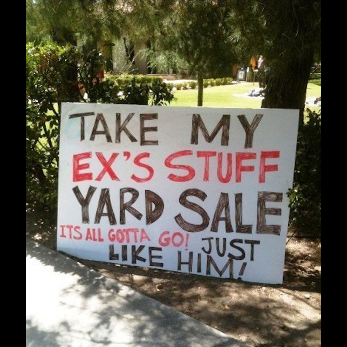 Funny Yard Sign 21