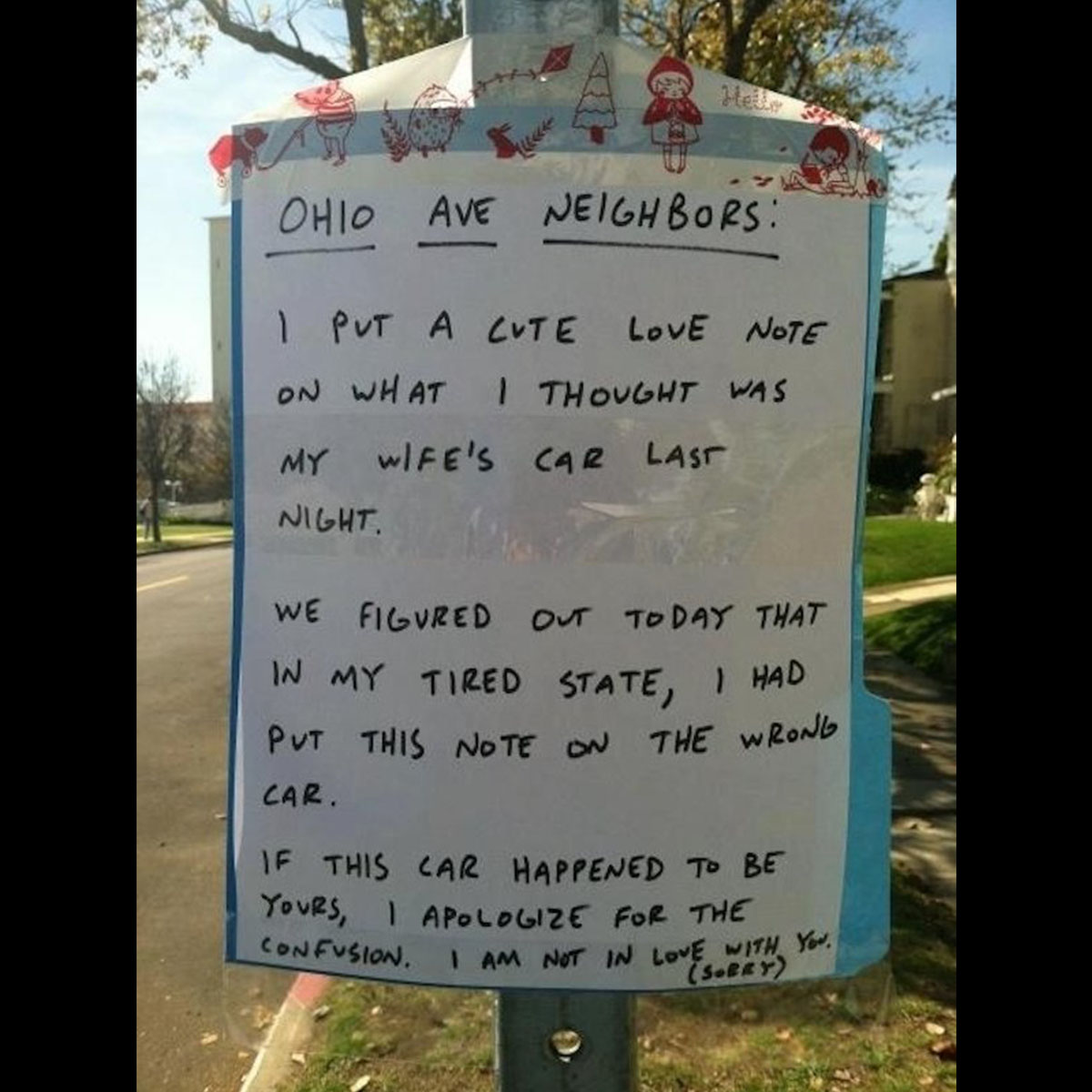 Funny Yard Sign 24