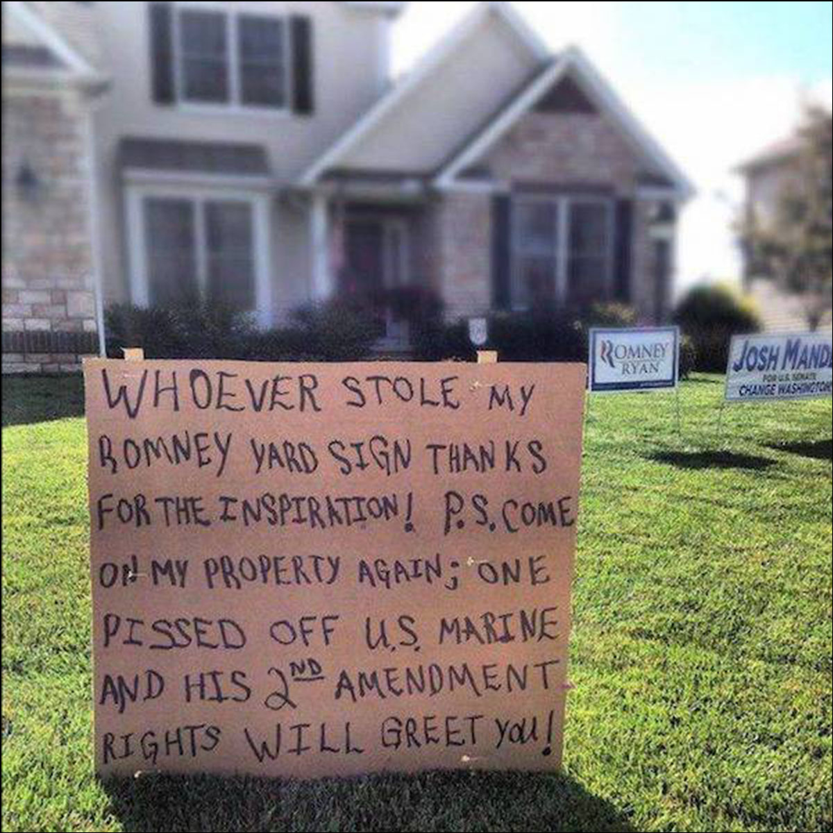 Funny Yard Sign 27