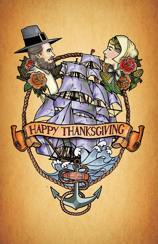 thanksgiving tattoo