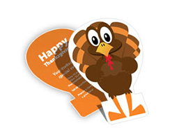 thanksgiving die cut