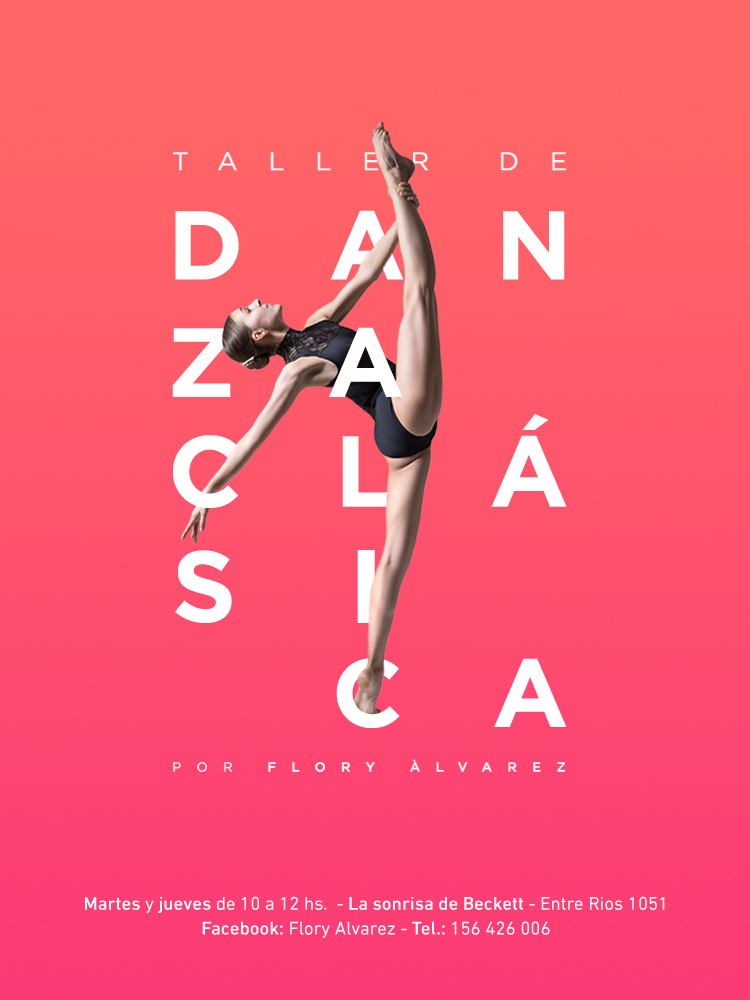 ballet workshop flyer by Hilen Godoy