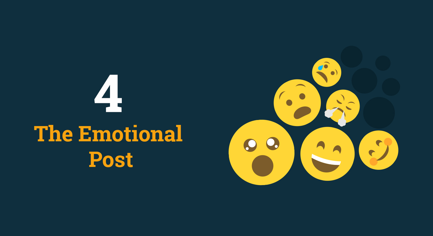 Social media content - the emotional post