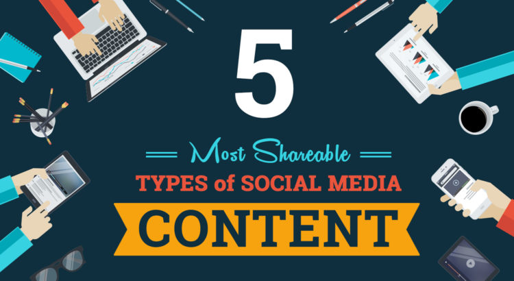 5 Most Shareable Social Media Content