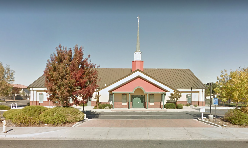 Google Maps screenshot of Sonrise Church Building in East Palmdale, CA.