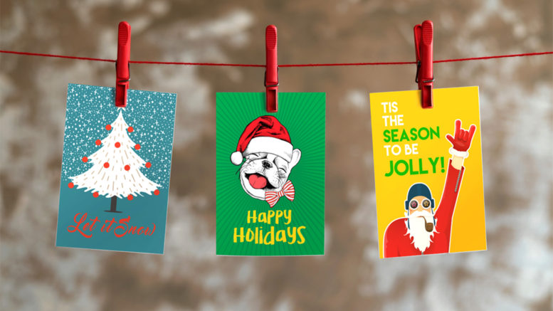 3 Reasons to send holiday postcards to customers.