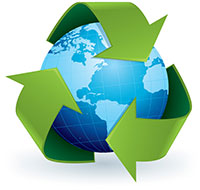 Recycled Earth Logo