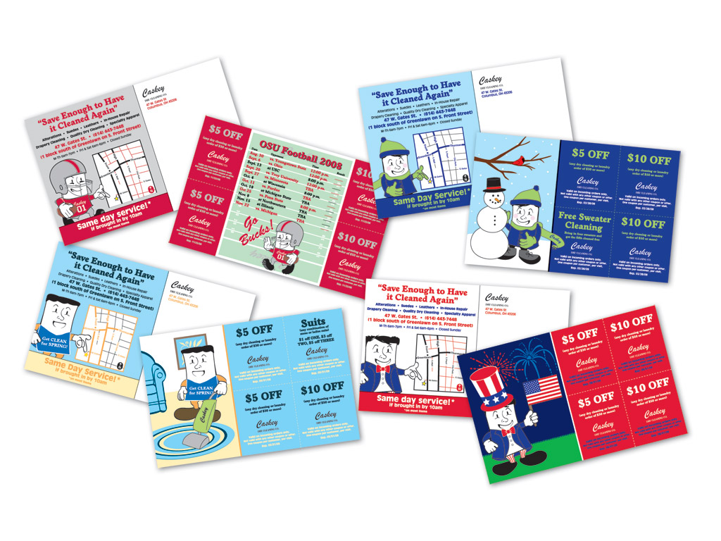 dry cleaners postcard marketing | PrintRunner Blog