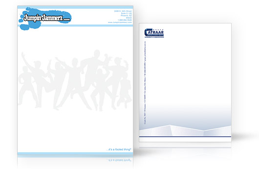 quality printing for less at printrunnercom letterhead