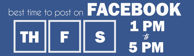 Facebook Posting Schedule