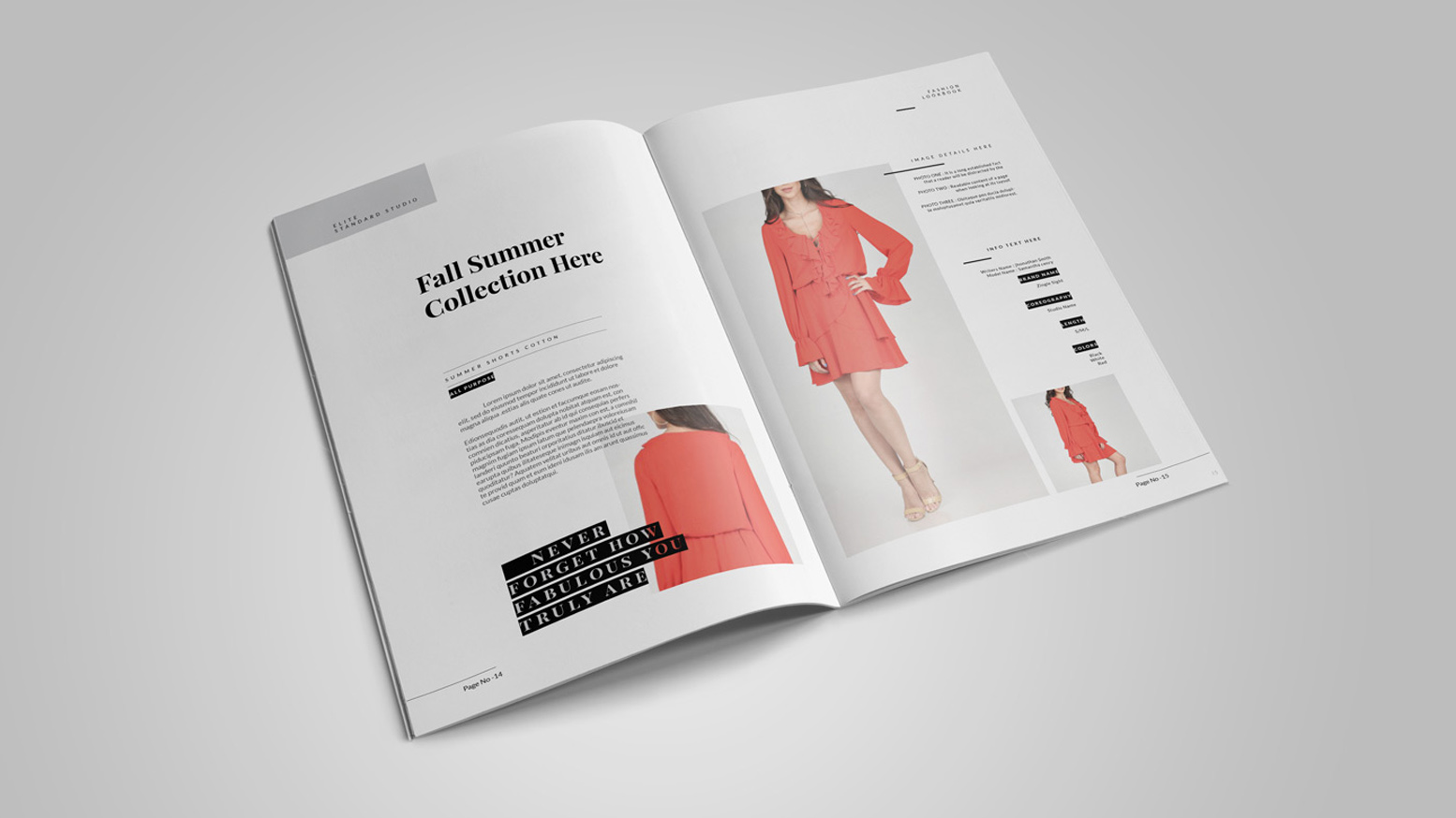 Fashion catalog from PrintRunner