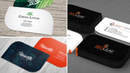 How to leave a lasting impression with leaf business cards