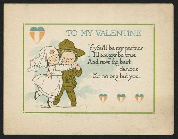 15 Old Fashioned Vintage Valentine Postcards | PrintRunner Blog