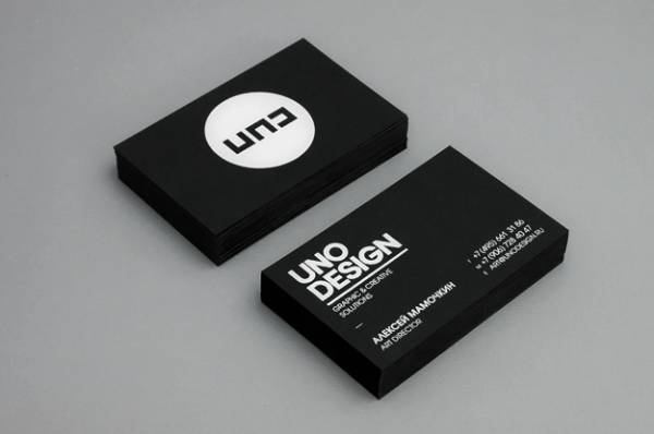Clean business cards - 3