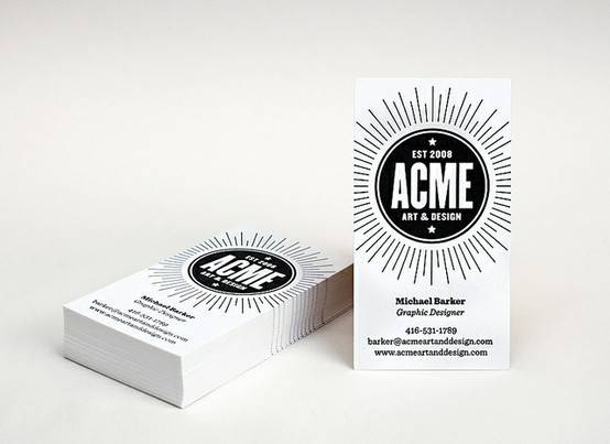 Clean business cards - 4