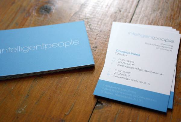 Clean business cards - 7