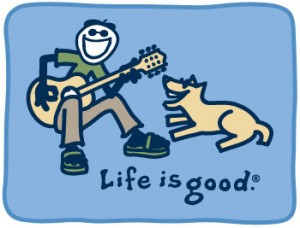 Life is Good - Jake and Rocket