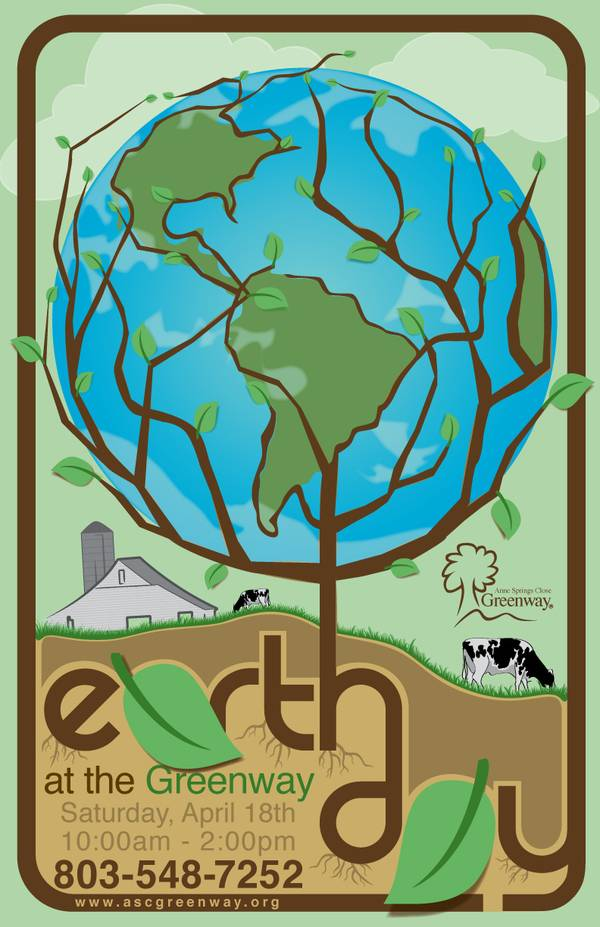 Earth Day Event Poster