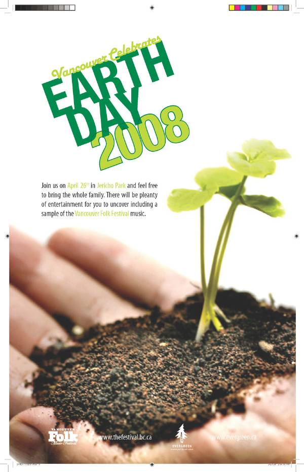 Earth Day Advert