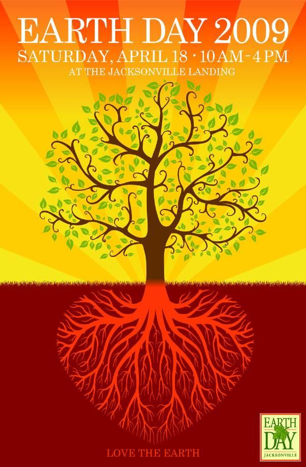 Earth Day Jacksonville 2009 Poster Art