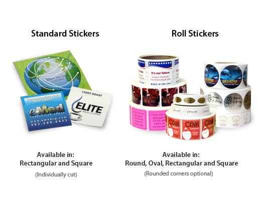 Sticker marketing allows your business to spread to other people more effectively compared to other print products.