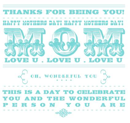 Mothers Day Card - 14
