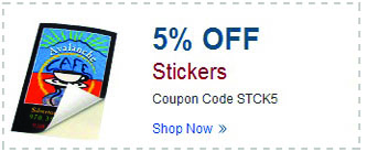 Sticker Printing - Memorial Day Sale