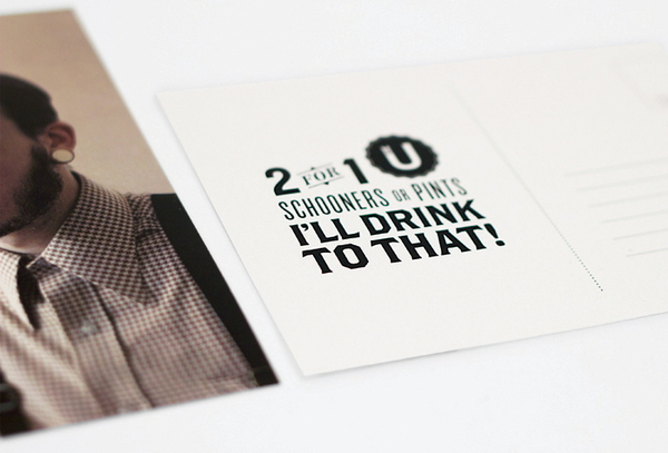 Postcard Printing Design - Schooners