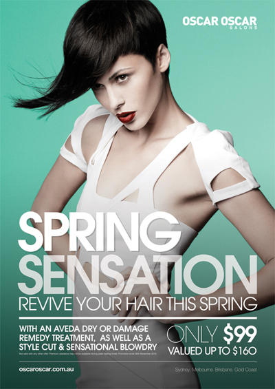 Postcard Printing Design - Spring Sensation