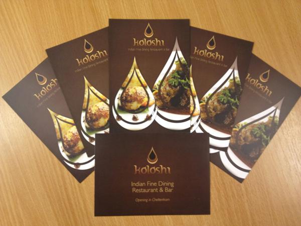 Postcard Printing Design - Koloshi