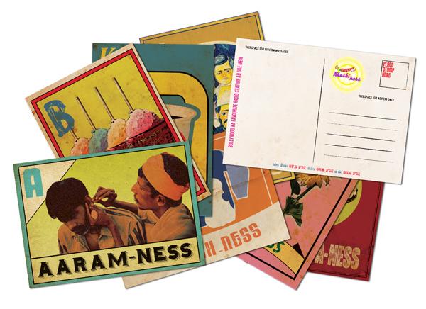 Postcard Printing Design - Radio Mirchi