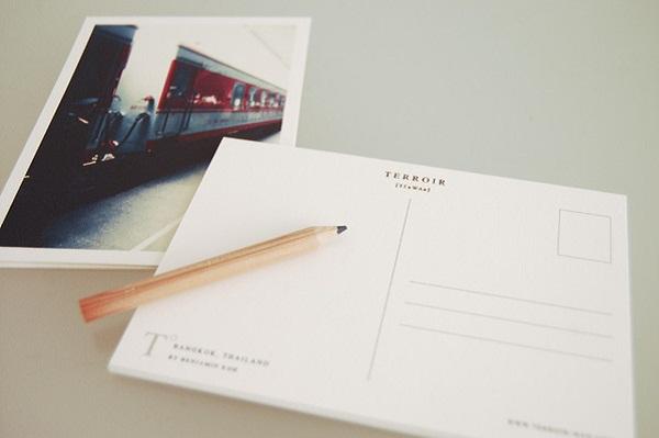 Postcard Printing Design - Terroir