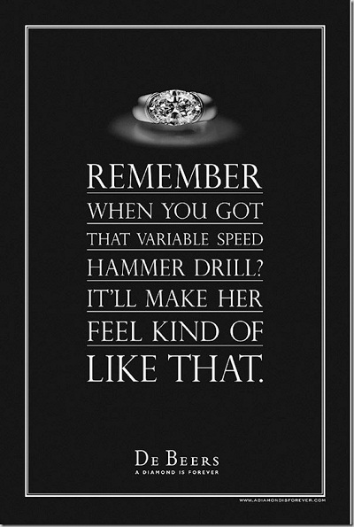 Print Ad in Text - CO - De Beers