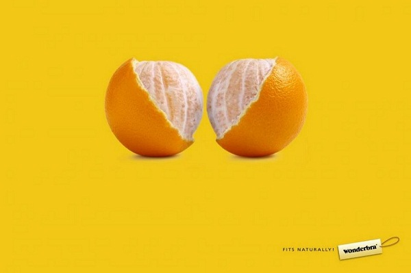 Print Ad Examples by VCO - Wonder Bra
