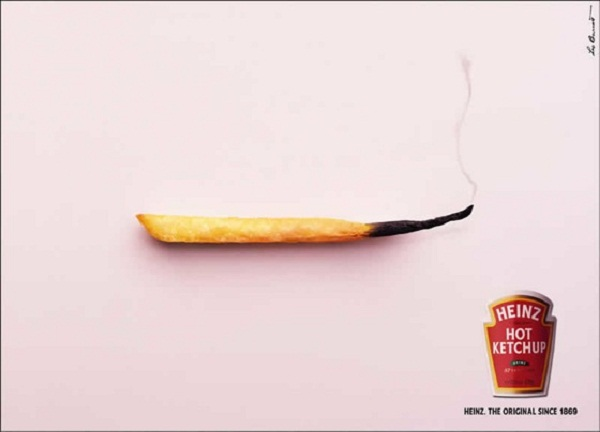 Print Ad Example Using Image by VO - Heinz