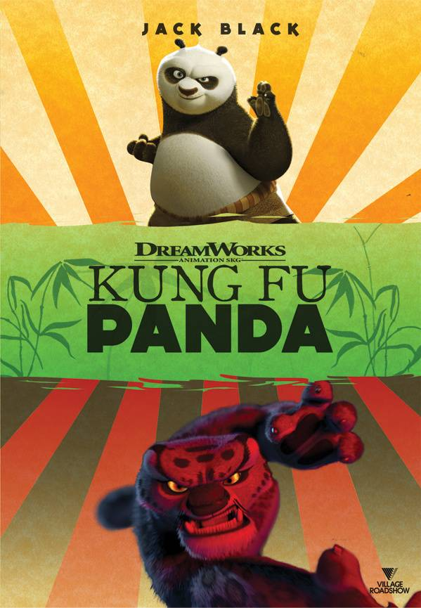 DVD Marketing - Kung Fu Panda DVD Cover Redesign 1