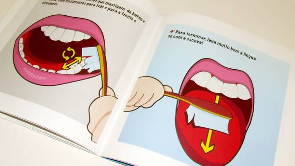 Dental marketing ideas oral hygiene book