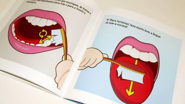 Dental marketing ideas oral hygiene book